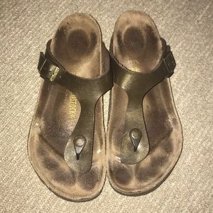 Shoes - Birkenstock Gizah size 40